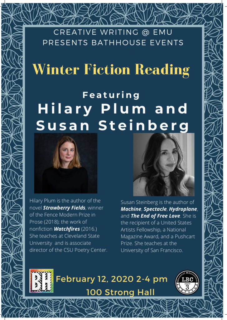 Winter Fiction Reading
